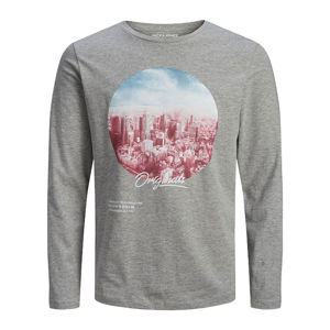 Slika JACK & JONES UPTOWN TEE LS CREW NECK