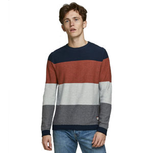 Slika JACK & JONES FLAME KNIT CREW NECK