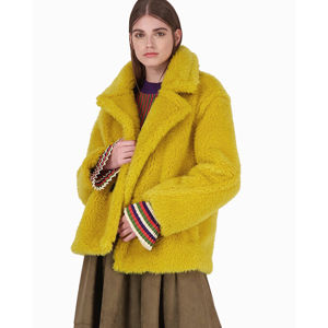 Slika AXEL SHORT COAT WITH FUR