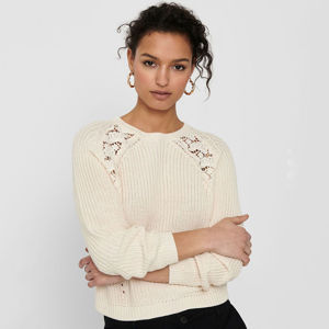 Slika ONLY LACE DETAIL KNITTED PULLOVER