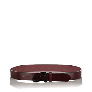 Slika AXEL LEATHER BELT WITH BUCKLE