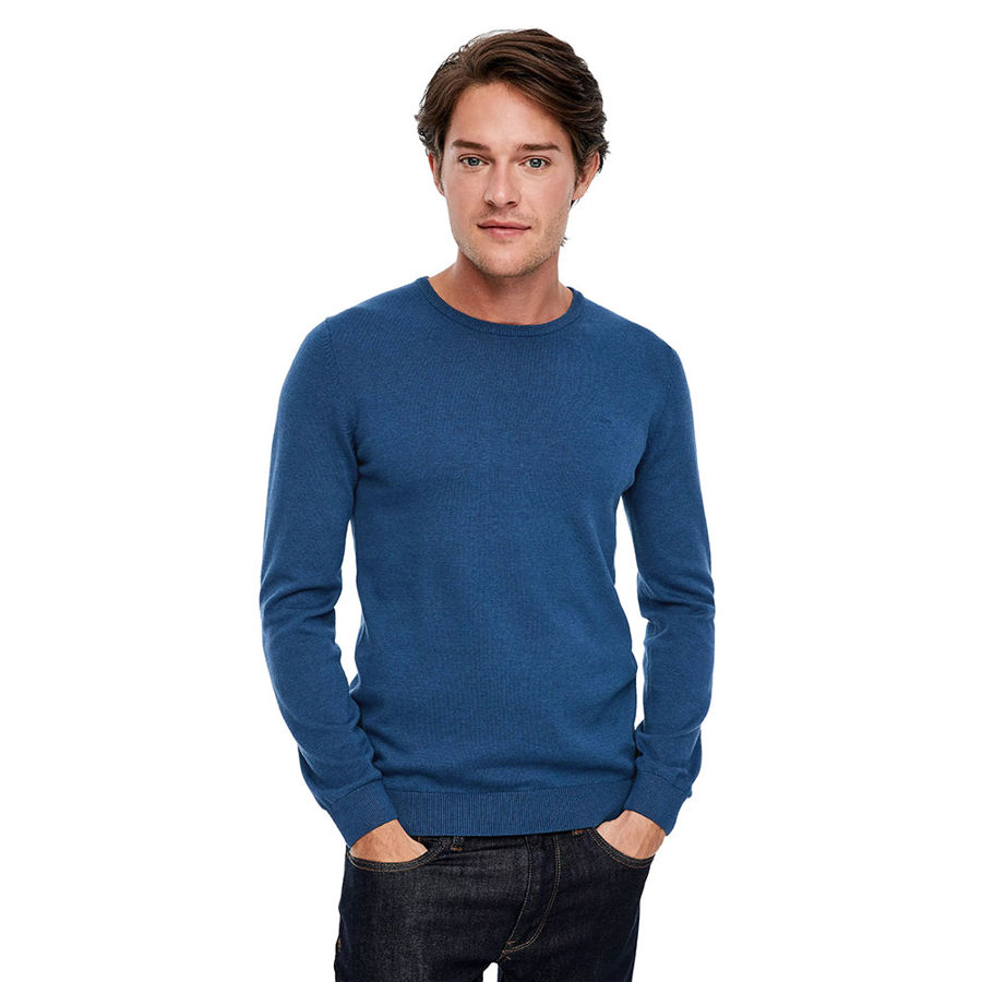 Slika S.OLIVER Jumper with logo embroidery