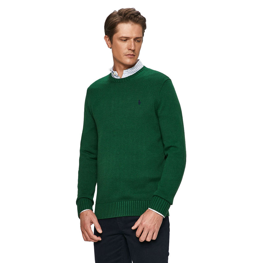 Slika RALPH LAUREN DRIVER LONG SLEEVE SWEATER