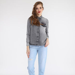 Slika TWISTER JEANS ONE POCKET DENIM SHIRT